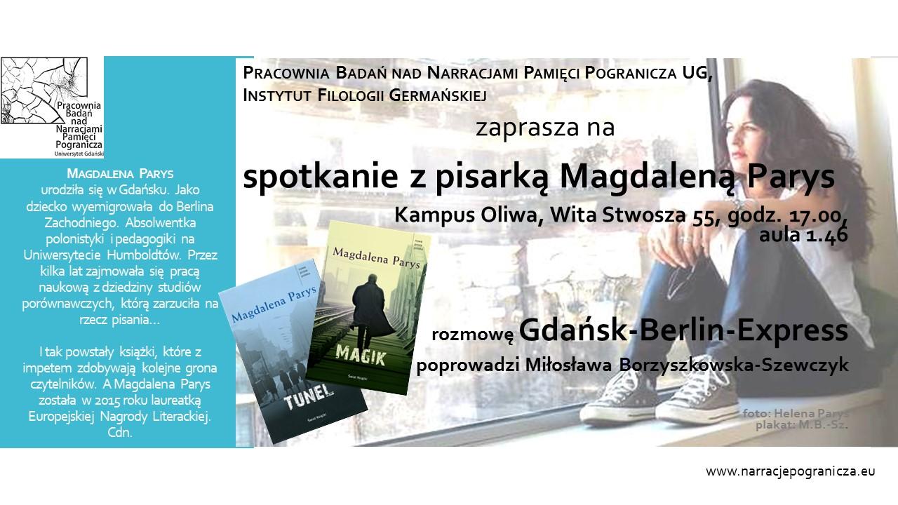 plakat Magdalena Parys 3 www