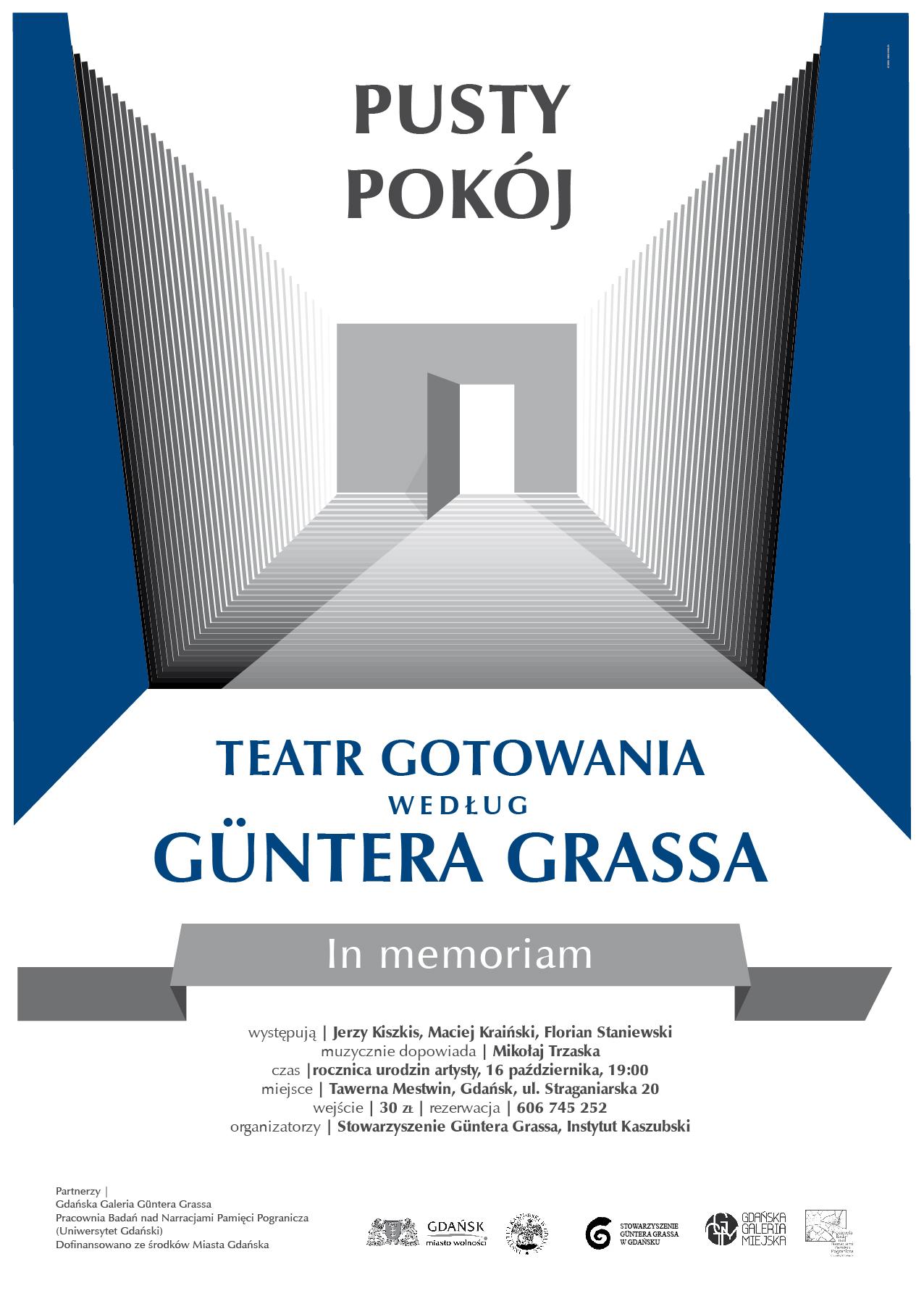 teatr gotowania plakat 15-20 B1 i zaproszenie rezerwacja 50 szt A4