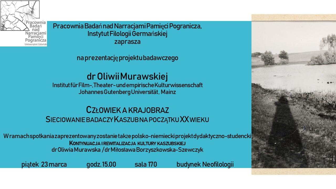 plakat prezentacja projektu Oliwia Murawska
